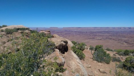 Canyonlands Utah From Needles Point