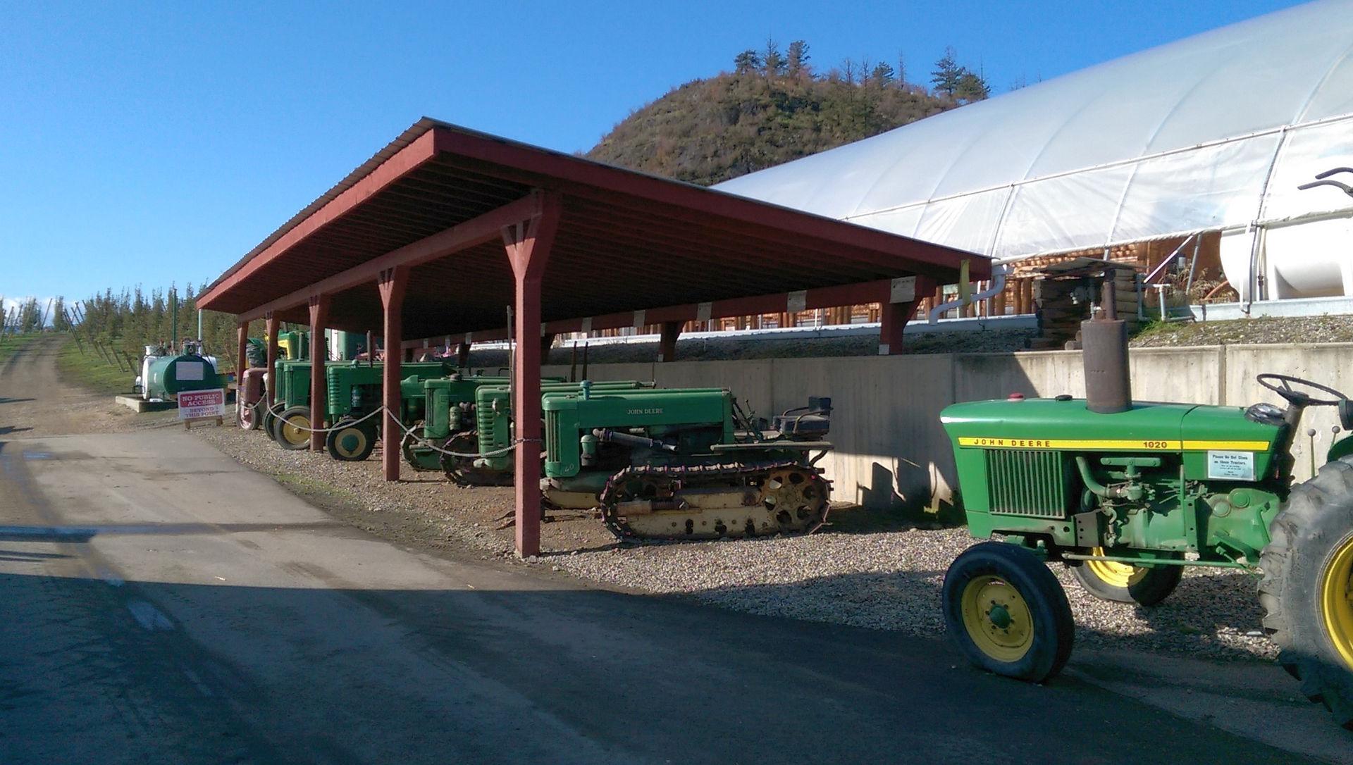 Antique John Deer Tractors