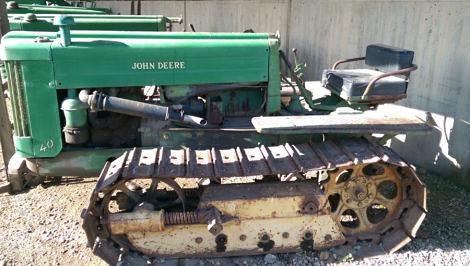 Antique John Deere Tractor