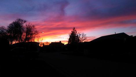 Chillliwack sunset