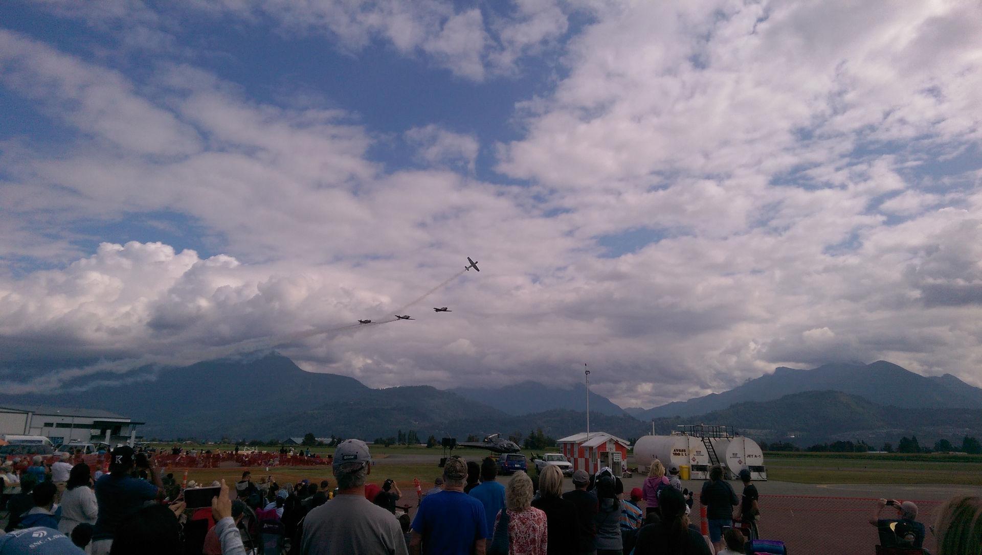 Chlliwack Flight Festival airshow