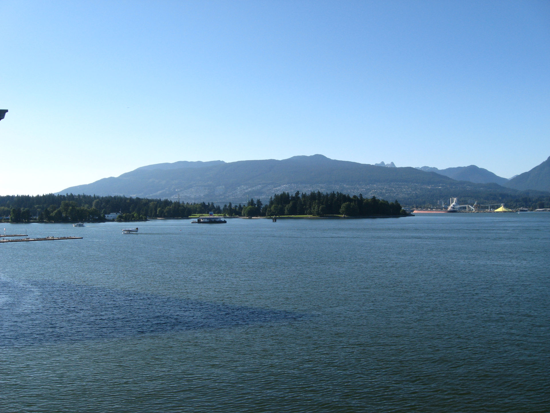 Coal Harbour and Stanley Park