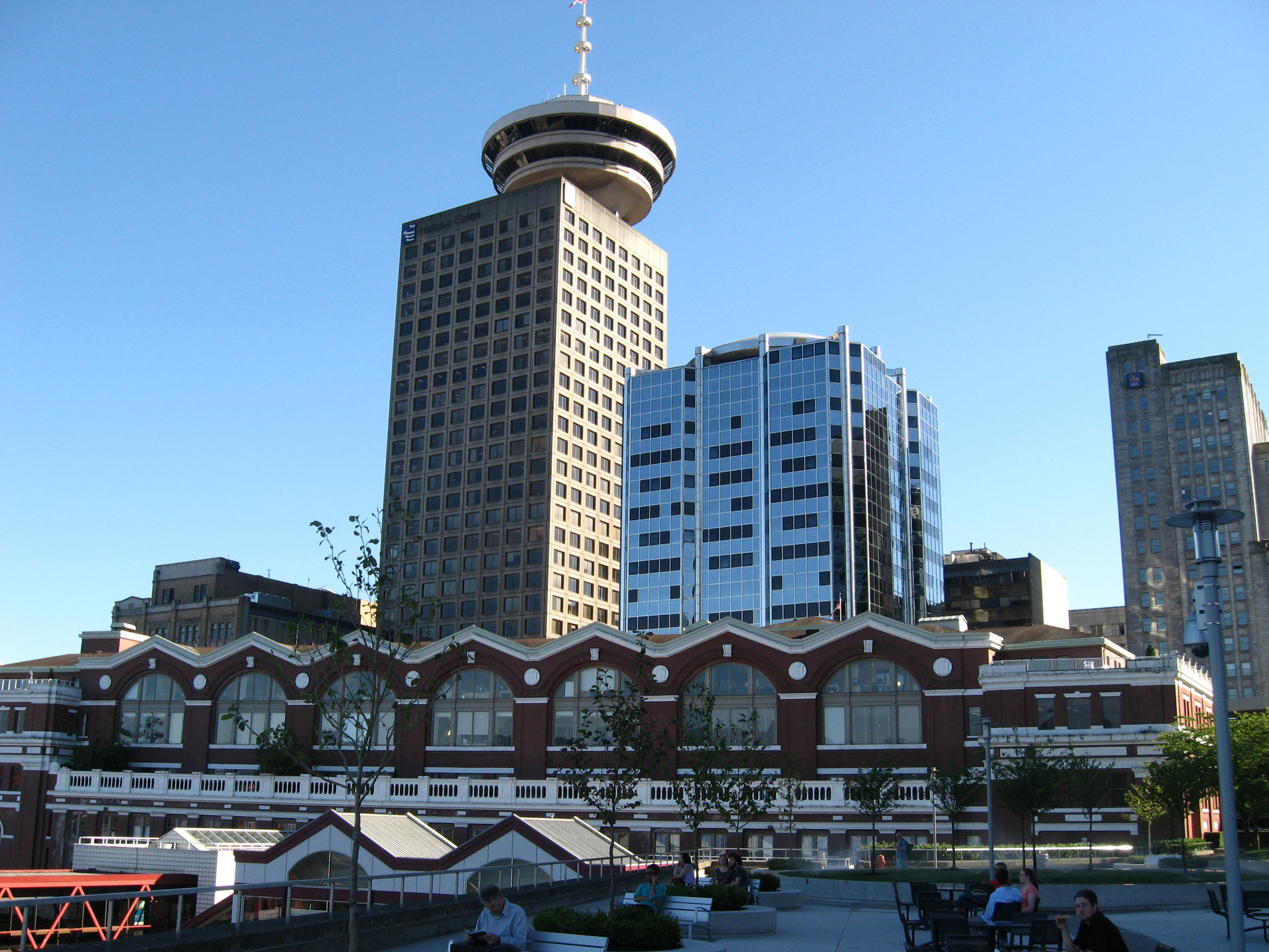 Harbour Centere and Waterfront Station Vancouver