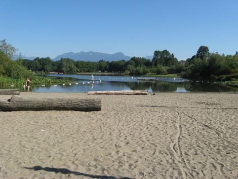 John Hendry Park beach Vancouver