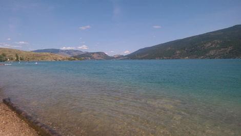Kalamalka Lake Okanagan Valley BC