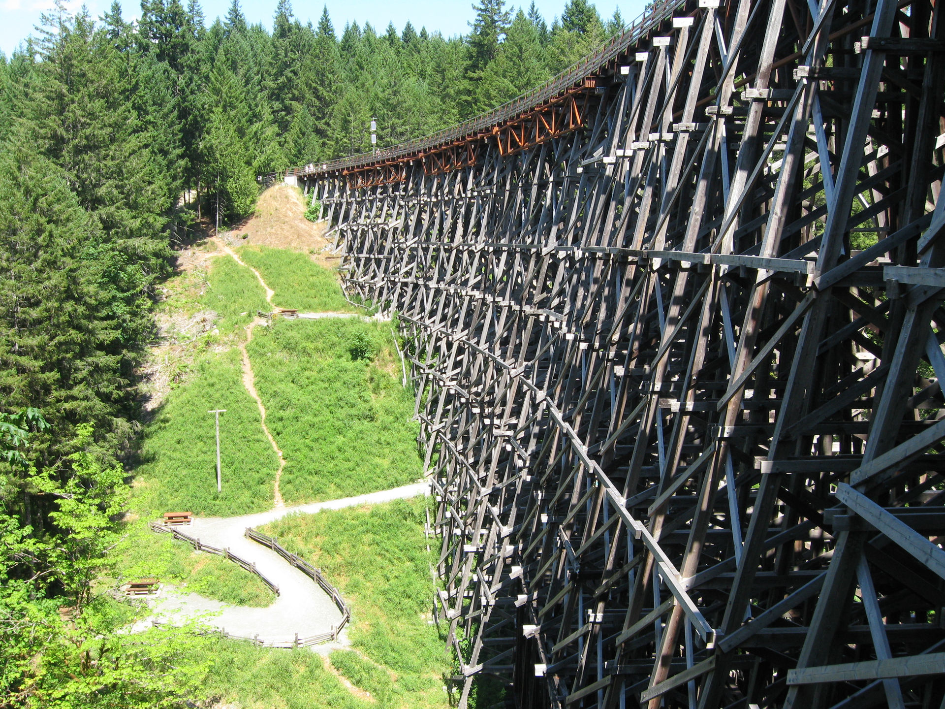 Kinsol Trestle Vancouver Island
