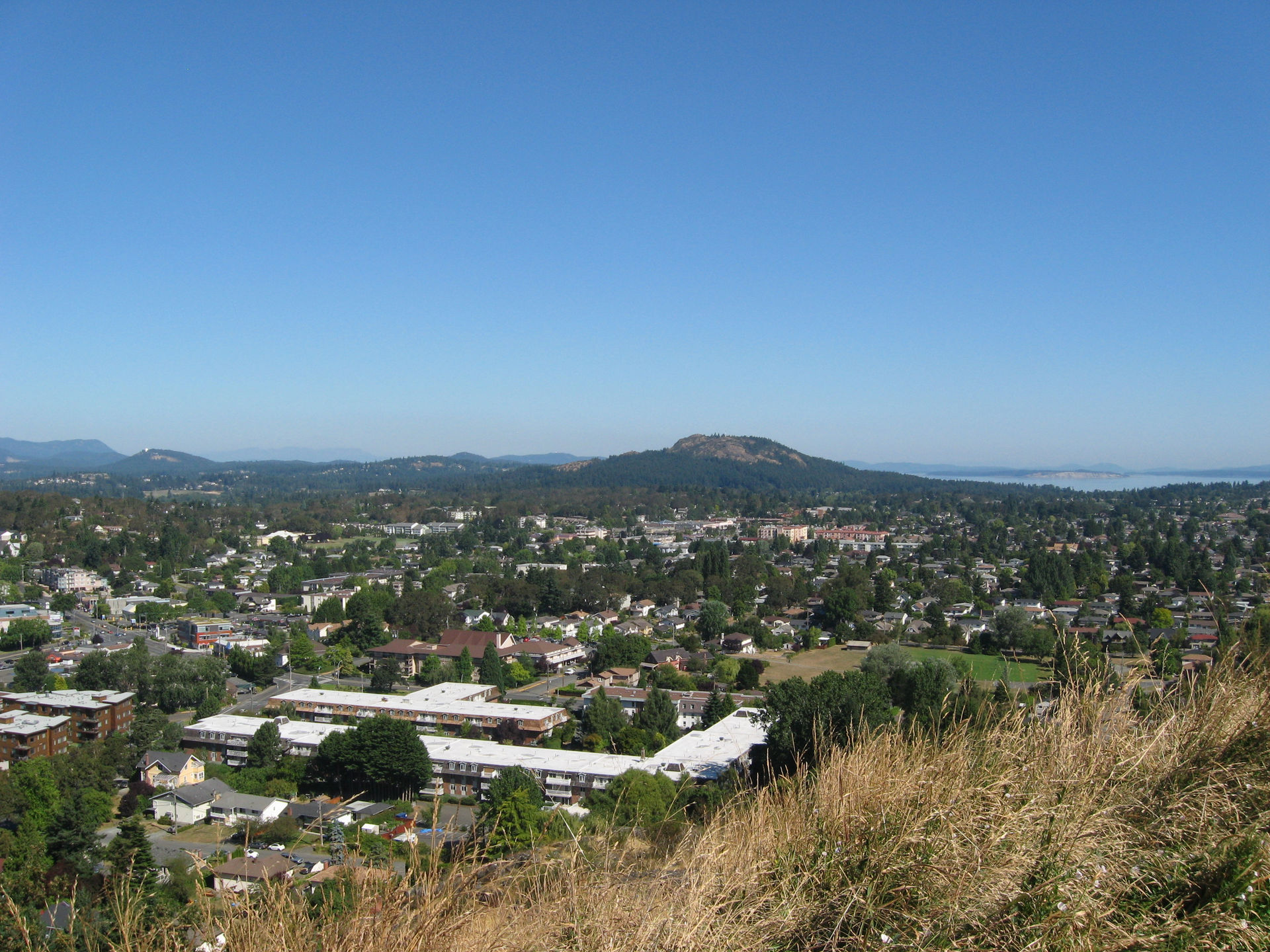 Mount Douglas from Mt Tolmie