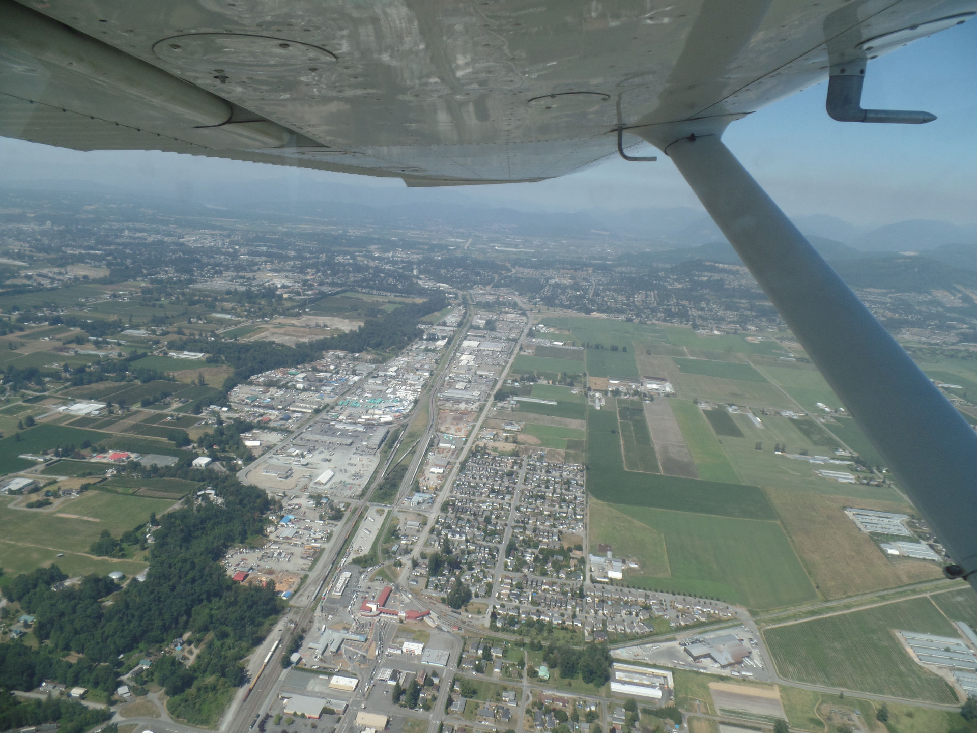 cessna over abbotsford