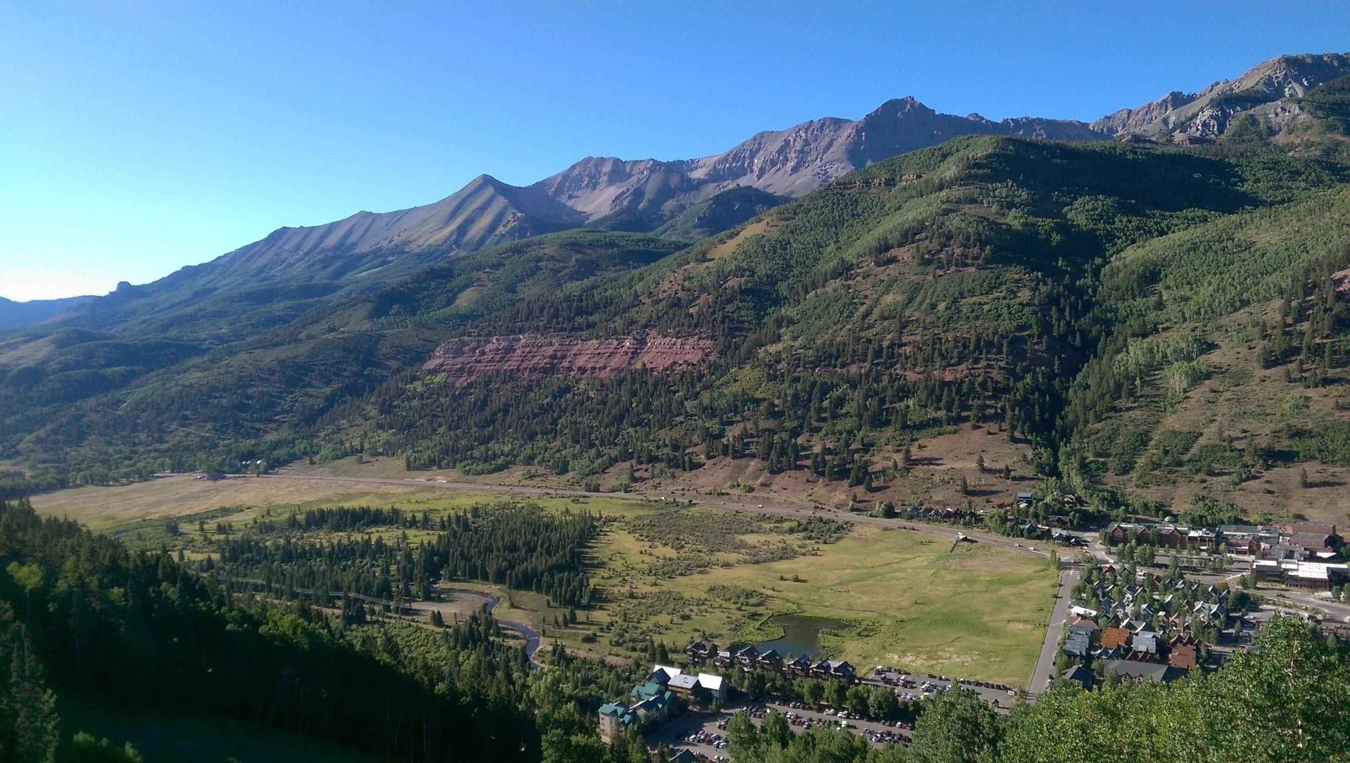 Colorado Rocky Mountains from Telluride