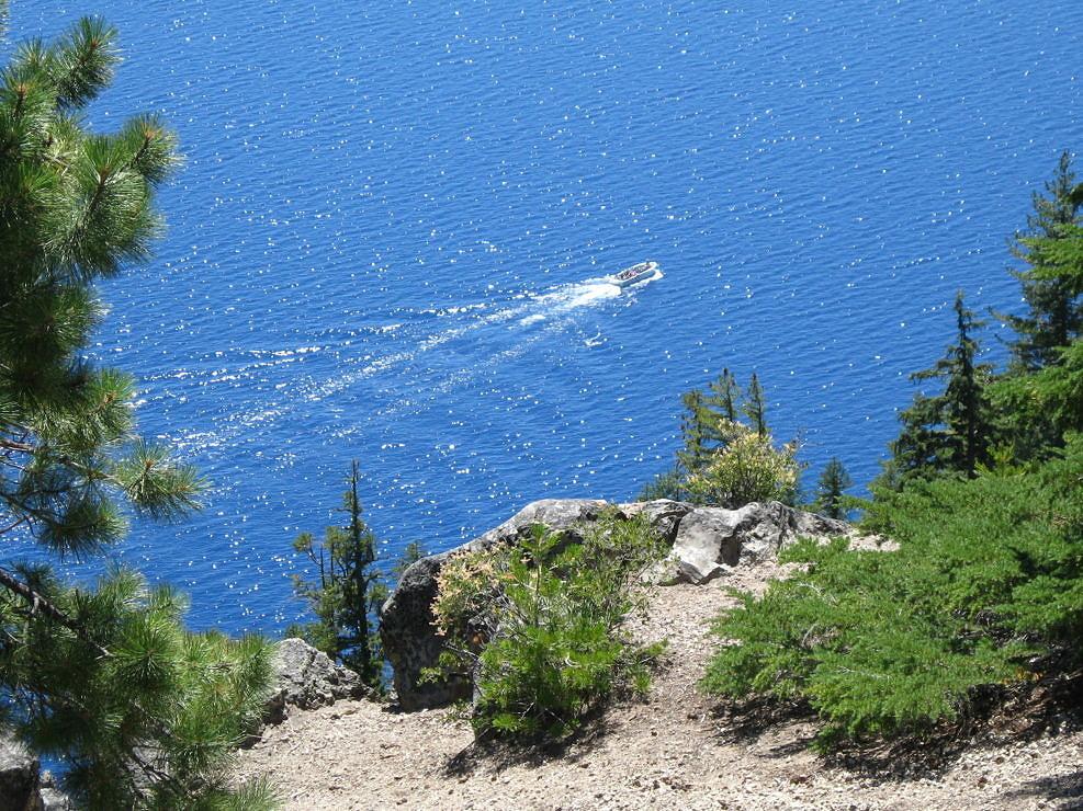Crater Lake Tour Boat