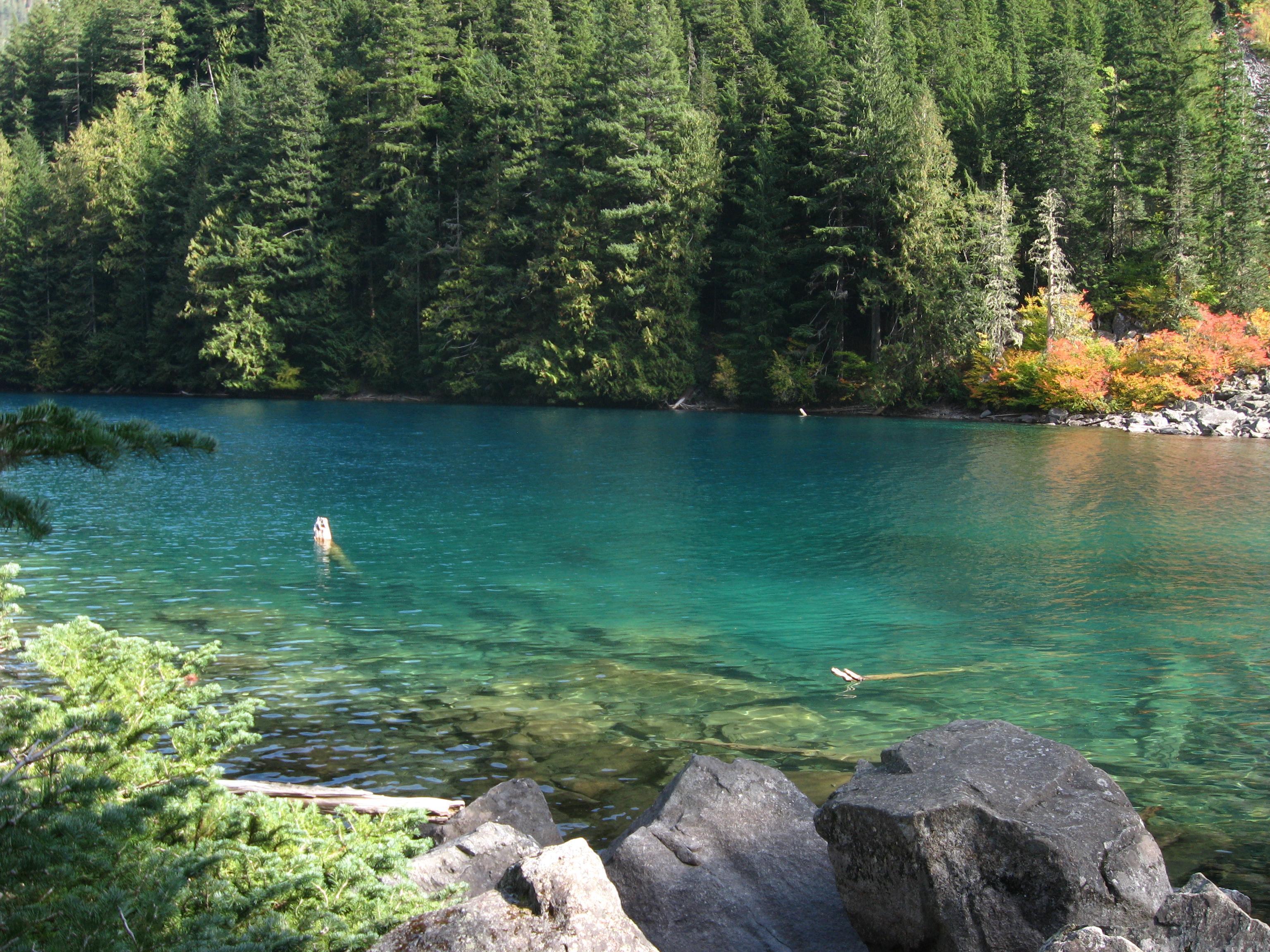 Lindeman Lake near Chilliwack