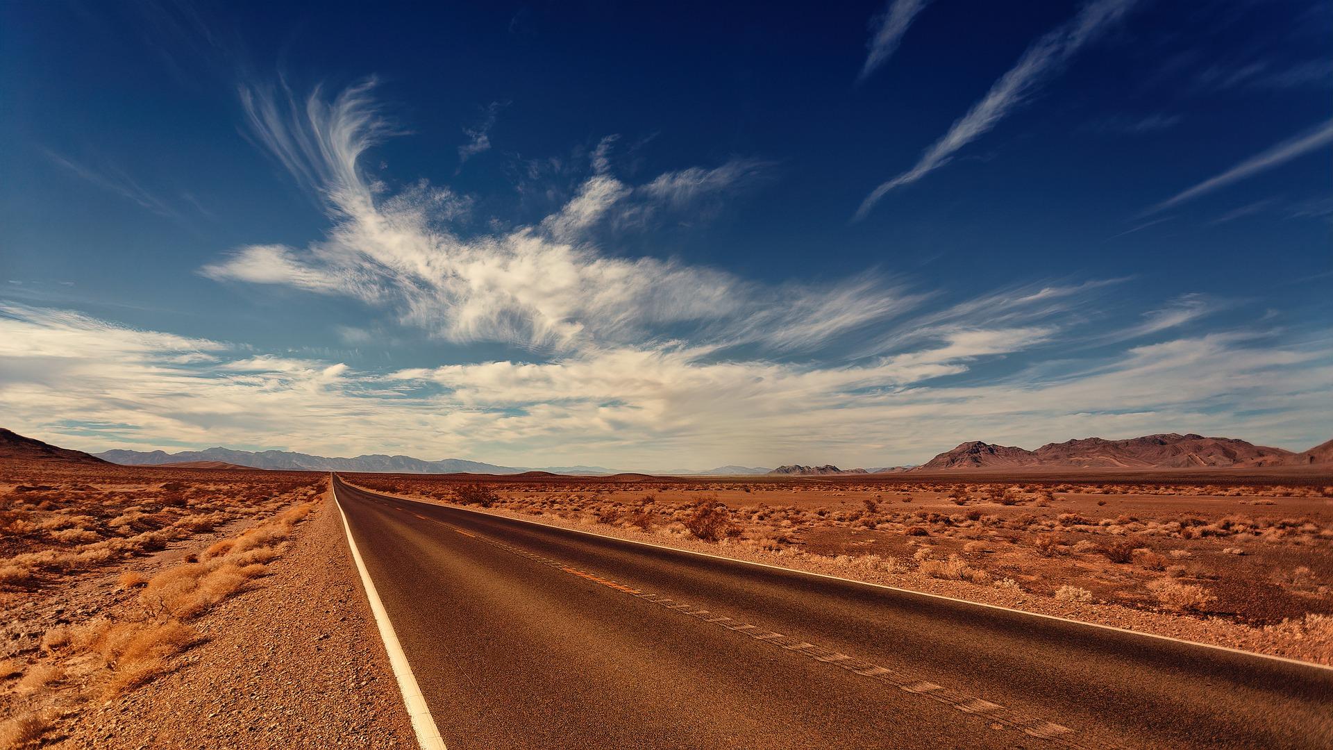 Nevada Desert Highway