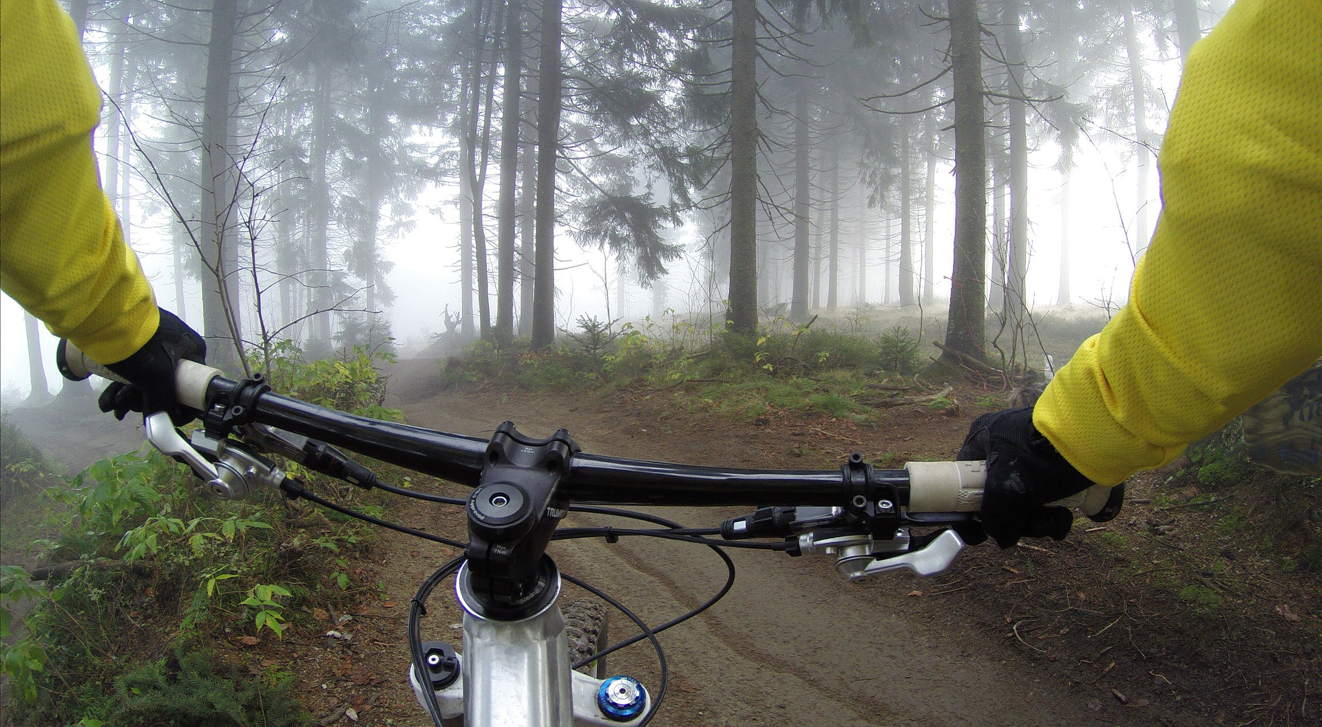 Riders Point of View Mountain Biking