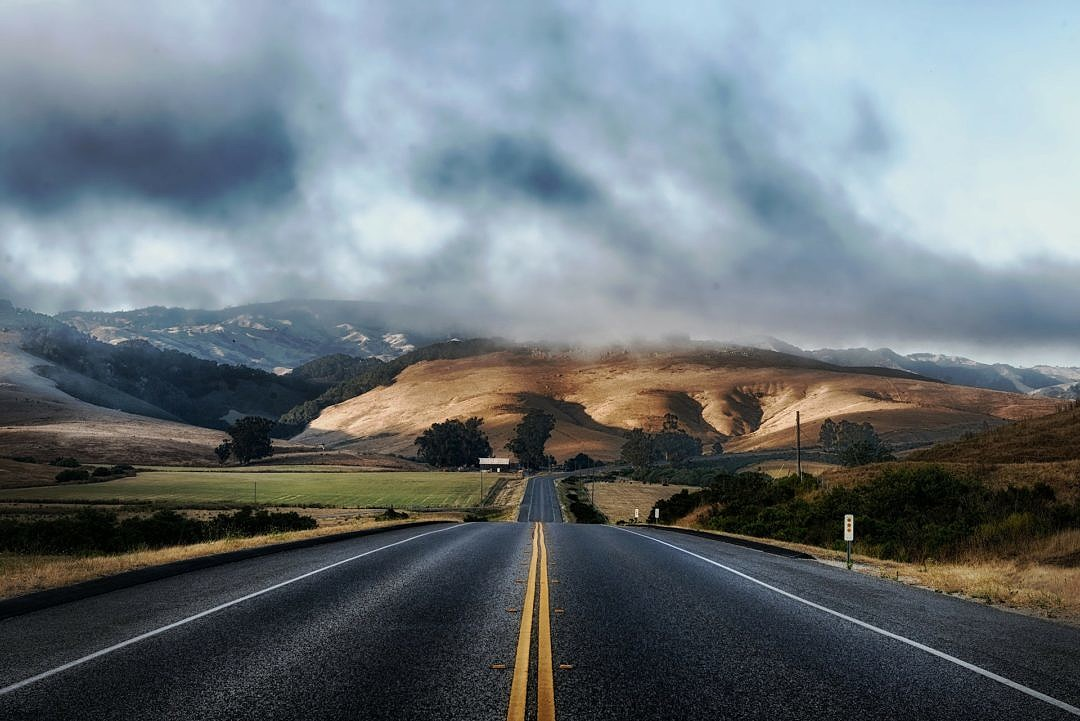 Scenic Highway in California