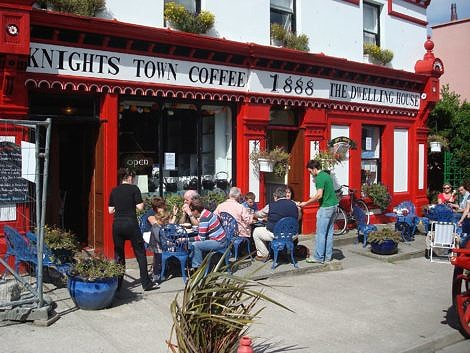 Sidewalk Cafe and Coffee Shop on Velentia Island