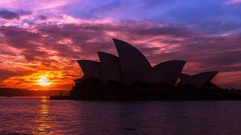 Sydney Opera House Silhouette